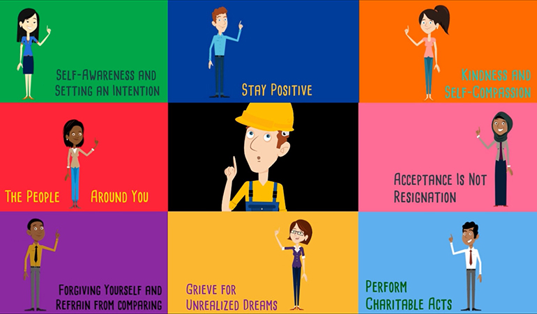 HOW TO practice Self-Acceptance - happiness