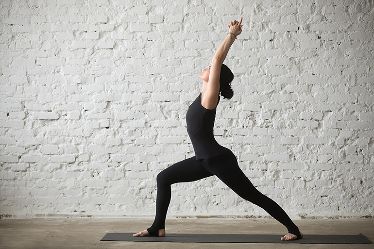 Yoga for Happiness 1/3: Compassion Yoga Warrior 1