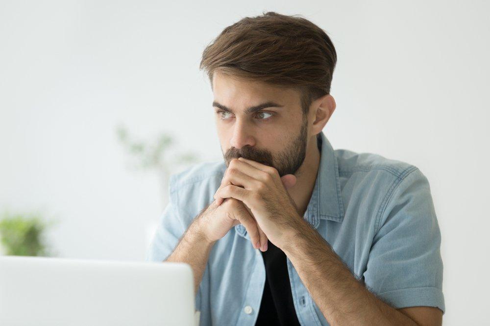 Excessives Nachdenken kann zu mangelnder Konzentration führen